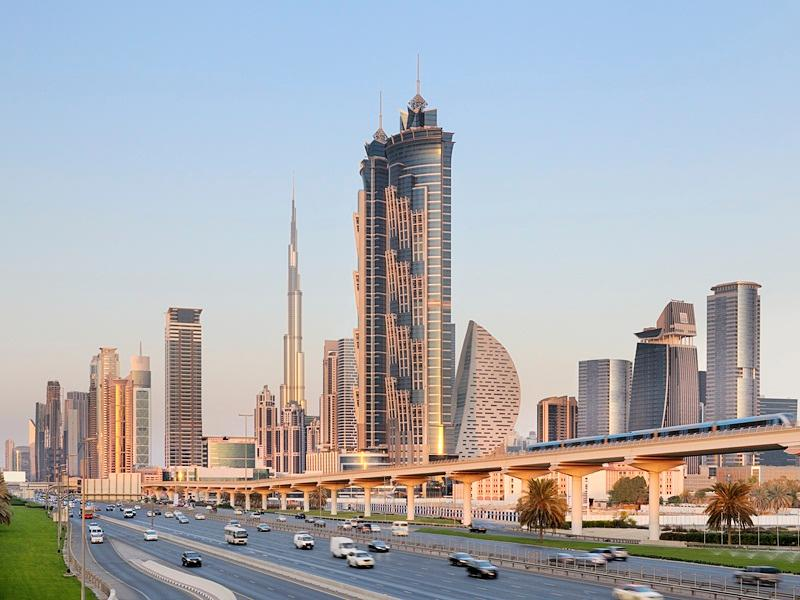 JW Marriott Marquis Dubai Hotel - Hotels and Accommodation in United Arab Emirates, Middle East