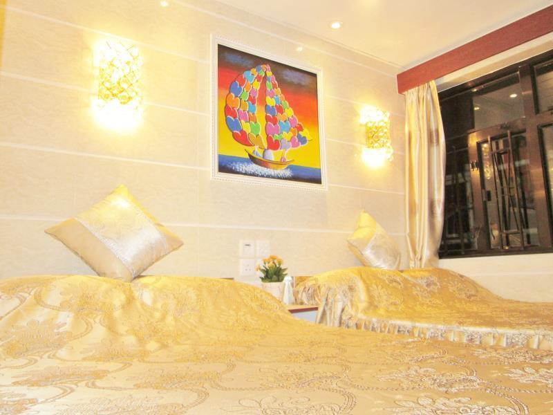 Asia Wifi Budget Hostel - Las Vegas Group Hostels HK הונג קונג - חדר שינה