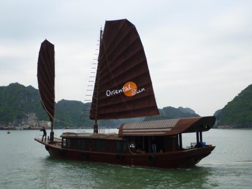 Oriental Sun Private Junk - Hotell och Boende i Vietnam , Cat Ba Island