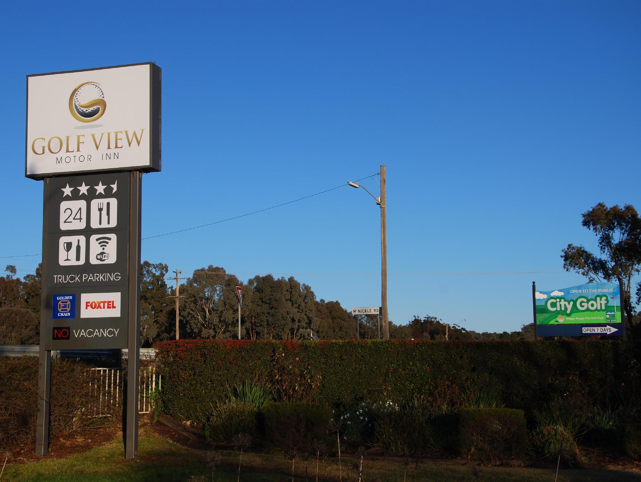 Golfview Motor Inn - Hotell och Boende i Australien , Wagga Wagga