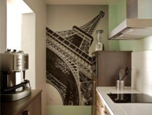 My Flat In Paris Parijs - Keuken