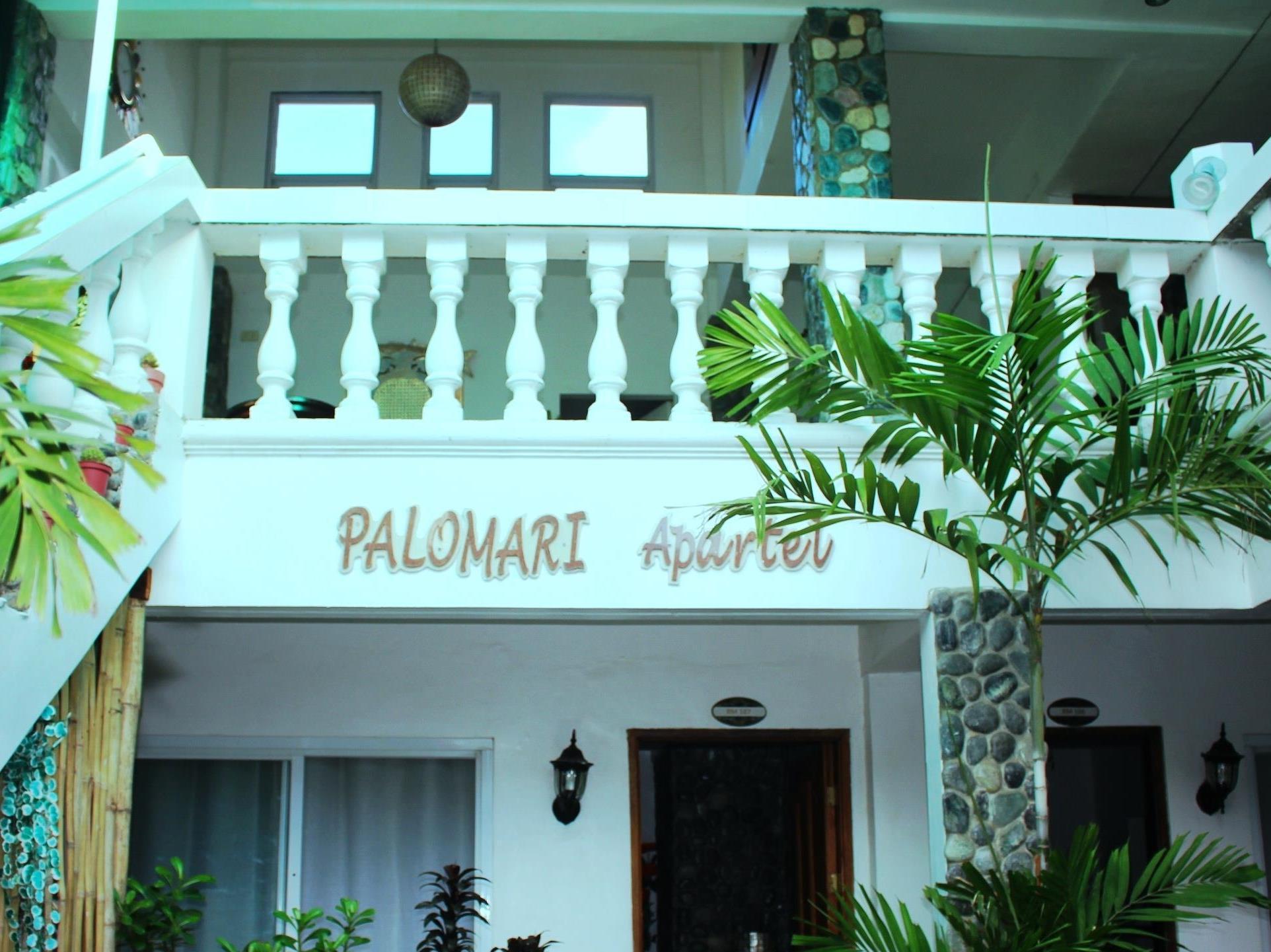 Palomari Apartel Laoag - Stairs to Second Floor
