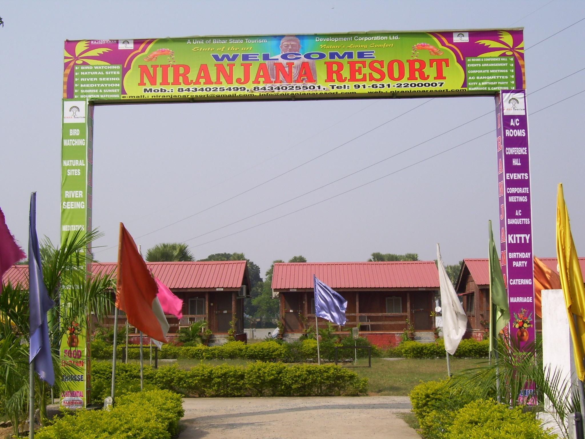 Niranjana Resort - Hotel and accommodation in India in Bodh Gaya