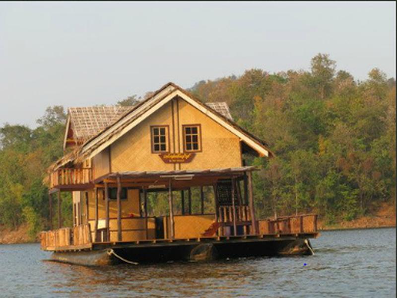 Hotell The Floating Houses i , Si Sawat (Kanchanaburi). Klicka för att läsa mer och skicka bokningsförfrågan
