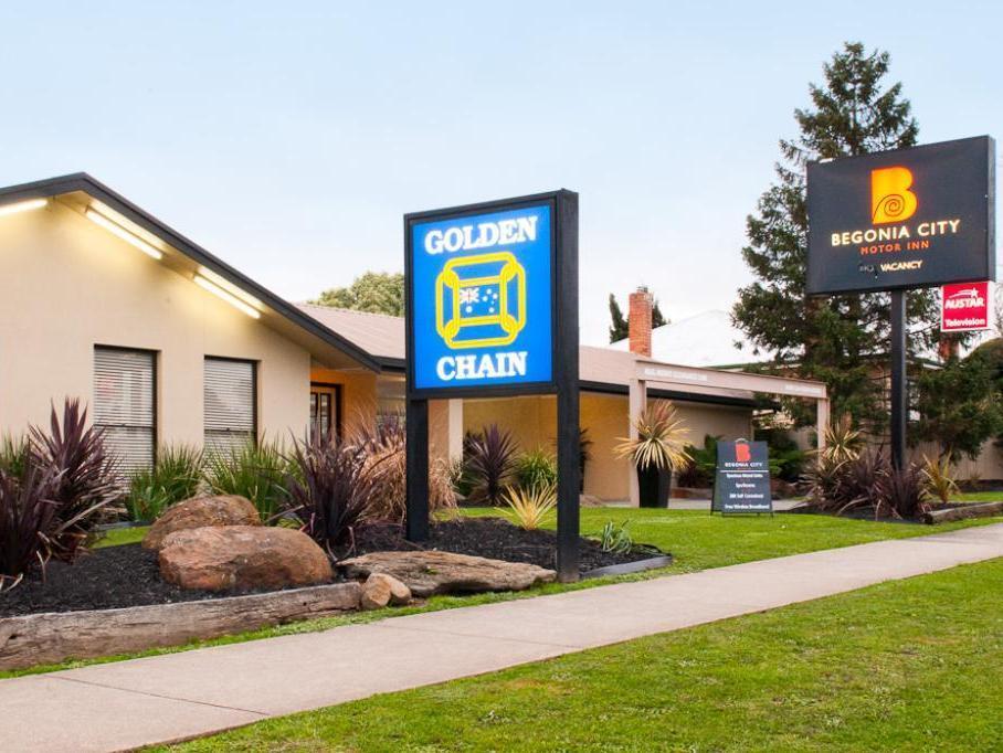 Begonia City Motor Inn Ballarat - Hotell och Boende i Australien , Ballarat