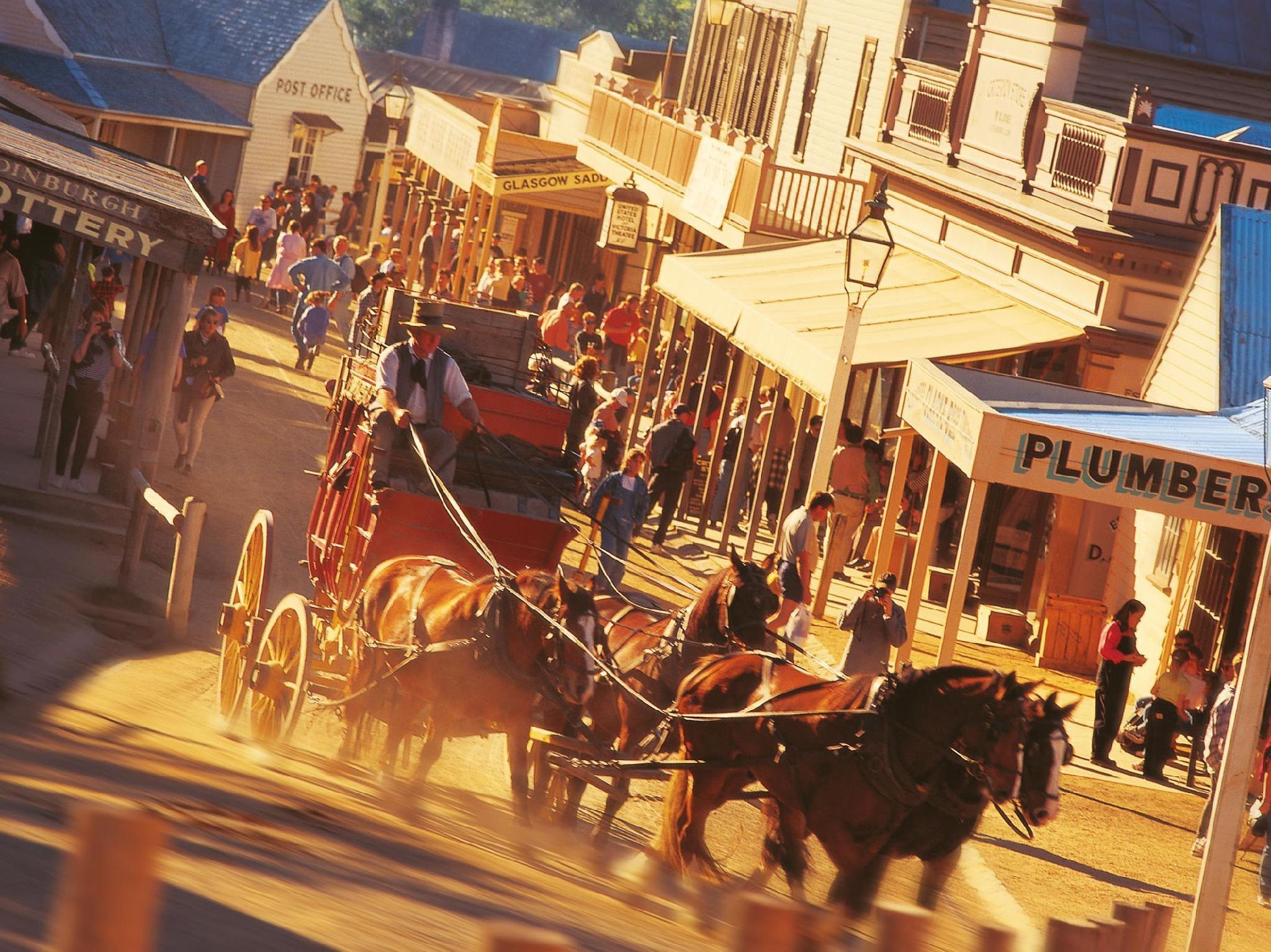 Comfort Inn Sovereign Hill - Hotell och Boende i Australien , Ballarat
