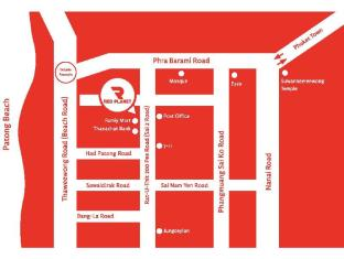 Red Planet Hotel Patong Phuket - Hotel Map