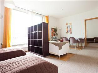 Berlin Rooms Apartments Leipziger Strasse Berlin - Living /sleeping