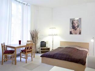 Berlin Rooms Apartment Kaethe-Niederkirchner-Strasse Berlin - Dining