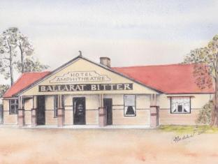 Amphitheatre Hotel B&B Avoca (VIC) - Traditional building