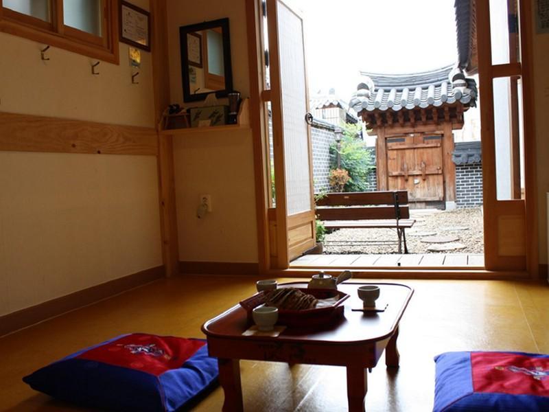 โรงแรม อันบิท ฮานค เกสท์เฮาส์  (Hanbit Hanok Guesthouse)