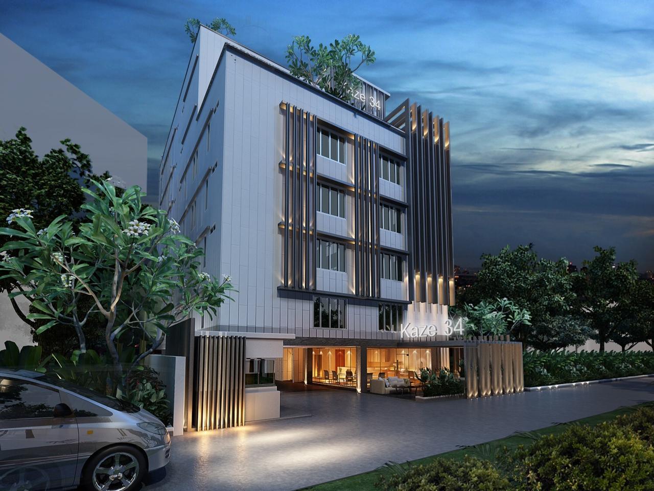 The Kaze 34 Hotel and Serviced Residence - Hotell och Boende i Thailand i Asien