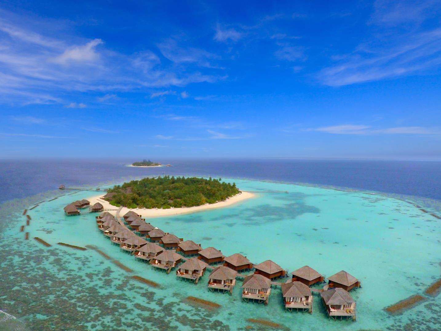Vakarufalhi Island Resort Maldives Islands - Beach View