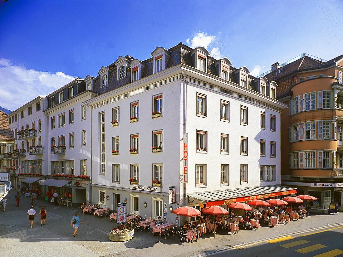 Hotel Weisses Kreuz Interlaken - Exterior