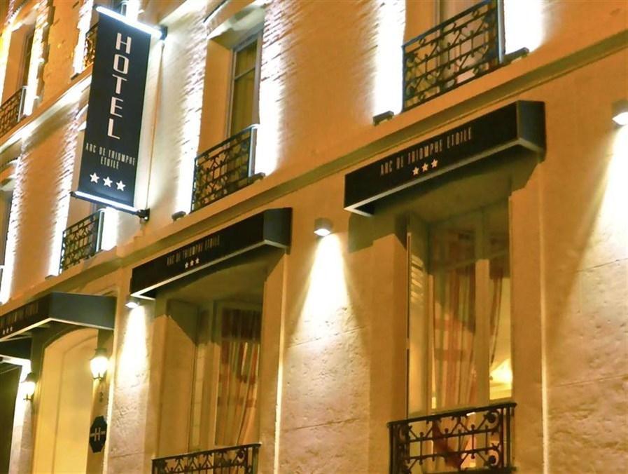 Arc De Triomphe Etoile Hotel - Hotell och Boende i Frankrike i Europa