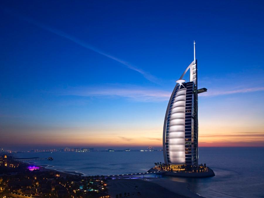 Burj Al Arab Hotel Dubai - Hotel Exterior
