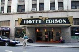 エディソン ホテルの外観