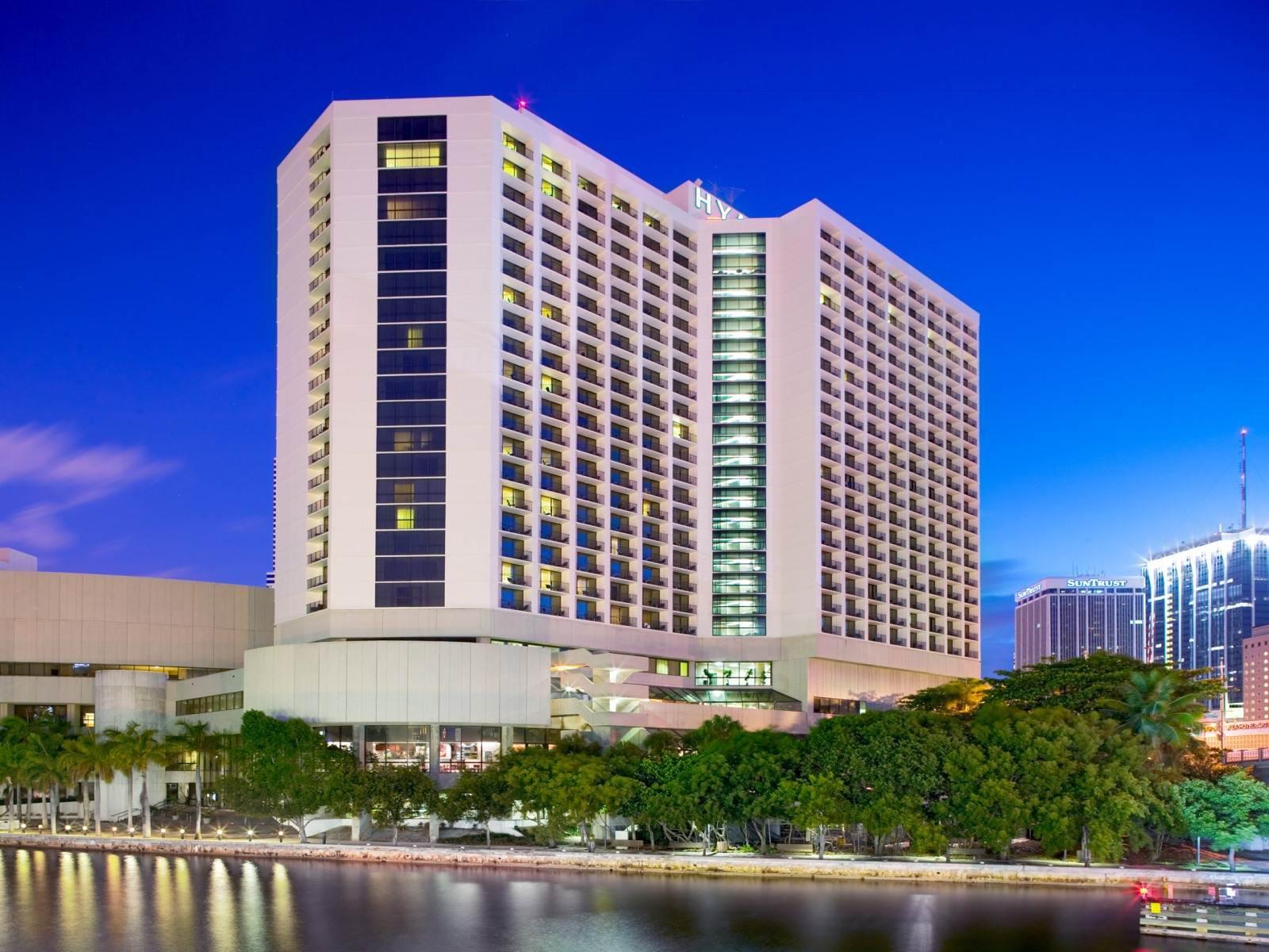 Hotel Hyatt Regency Miami Florida
