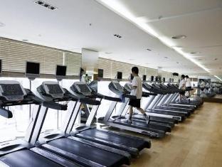 Seokyo Hotel Szöul - Fitneszterem