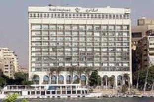 Shepheard Hotel in Downtown Cairo