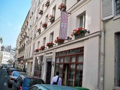 Hotel Jardin de l'Odeon Paris - Hotellet från utsidan