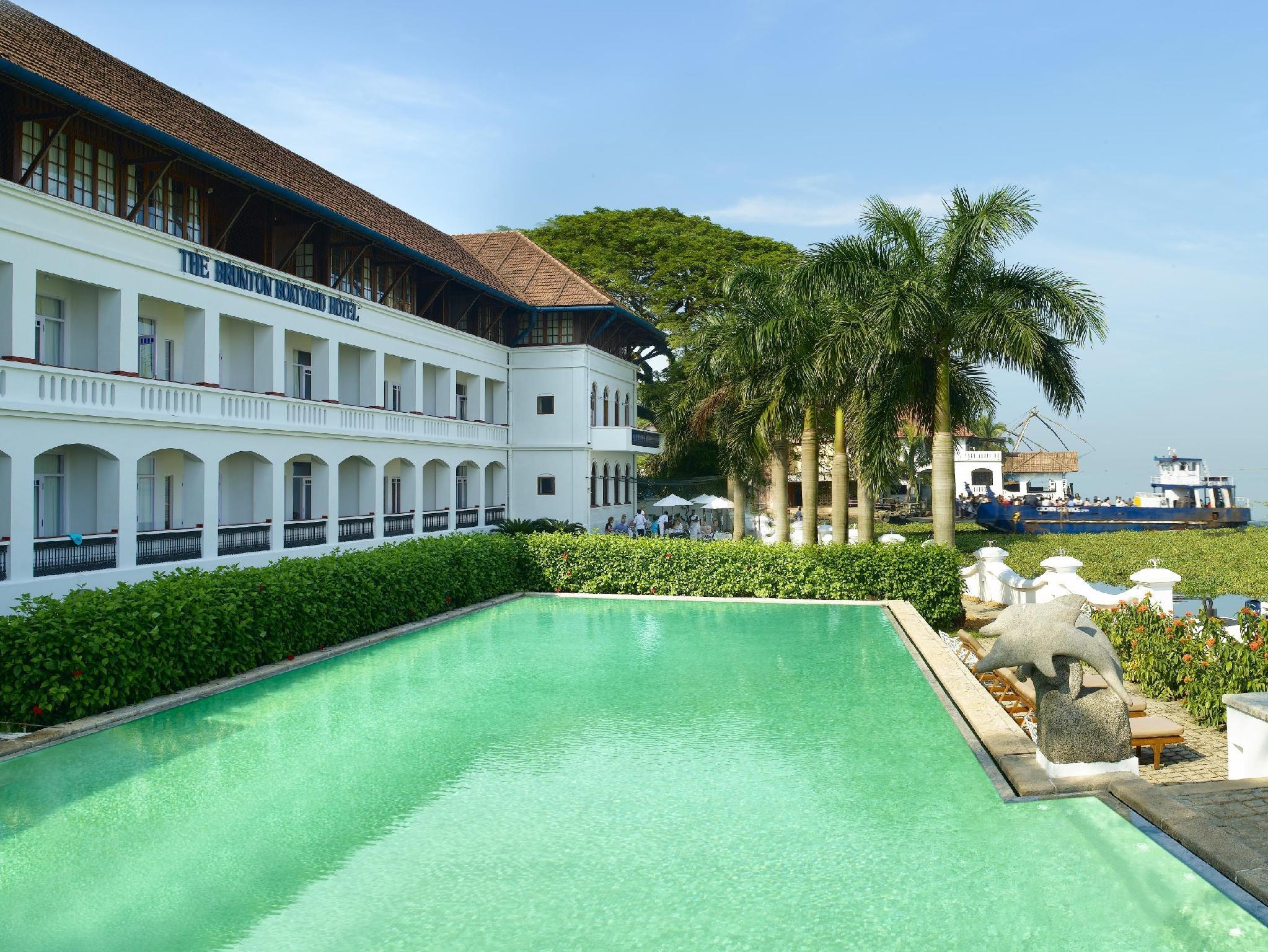 Brunton Boatyard Hotel - Hotell och Boende i Indien i Kochi / Cochin