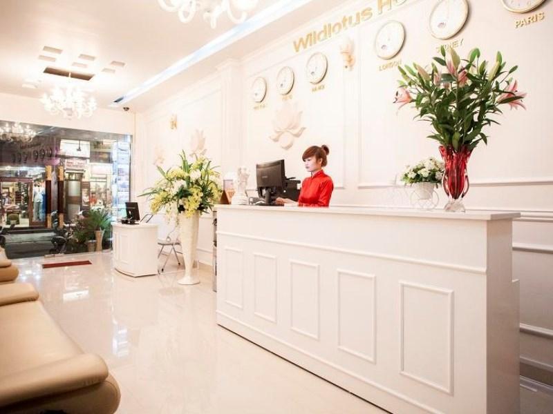 Wild Lotus Hotel - Hang Be - Hotell och Boende i Vietnam , Hanoi