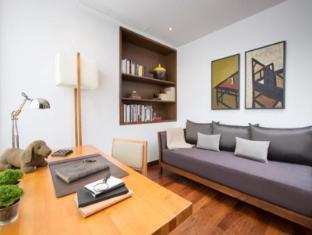 Shama Causeway Bay Serviced Apartments Hong Kong - Phòng khách