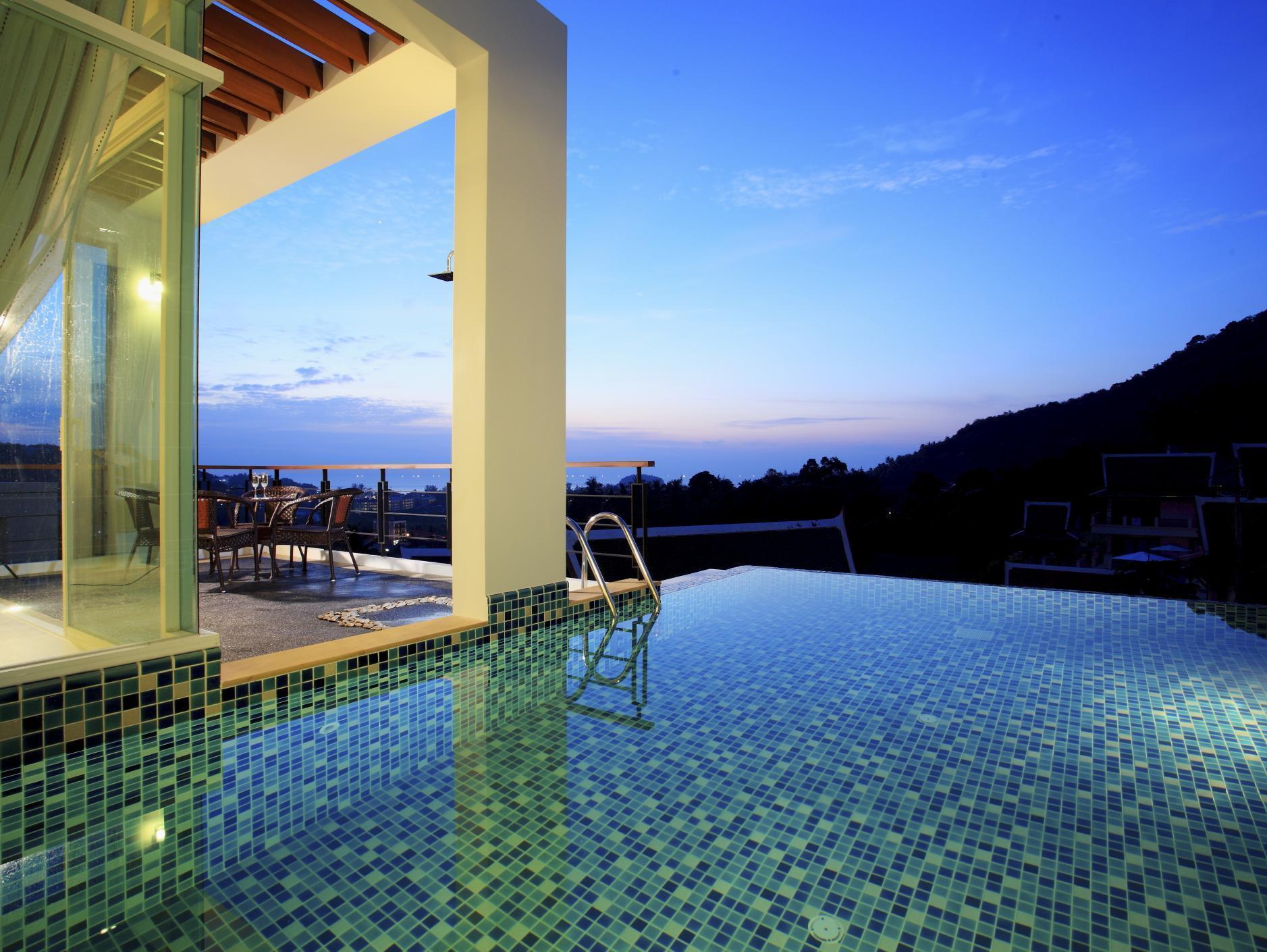 Hotell Kata Sea View Villas i Kata, Phuket. Klicka för att läsa mer och skicka bokningsförfrågan