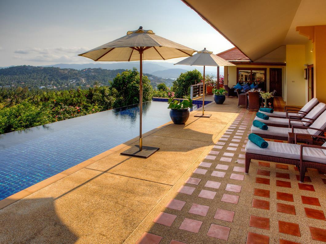 Samui Summit Hilltop View 15 Villa