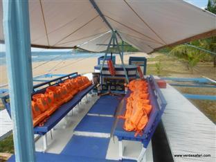 Verde Safari Excursions Bed and Breakfast El Nido - Boat Ride