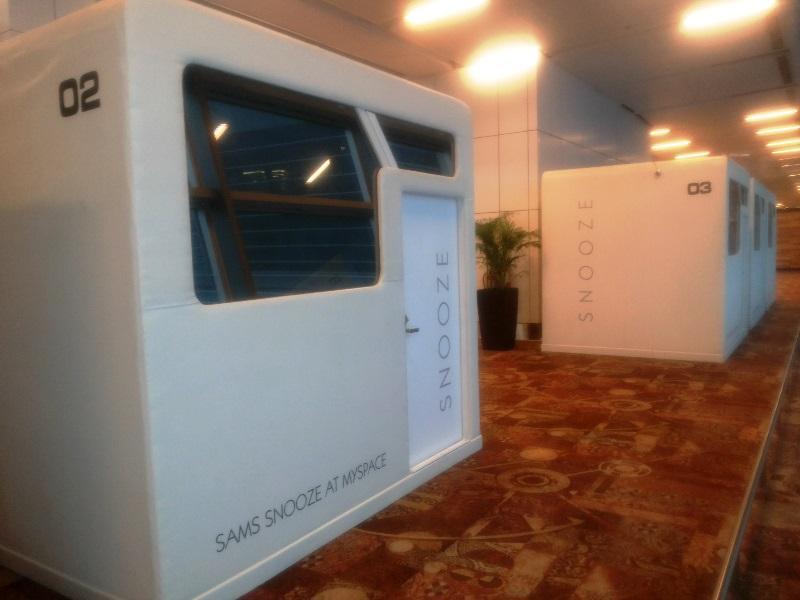 Delhi Airport Snooze - Sleeping Pods Hotel - New Delhi and ...