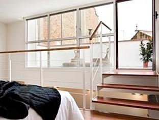 Lodging Ramblas Miro Apartment Barcelona - Gastenkamer