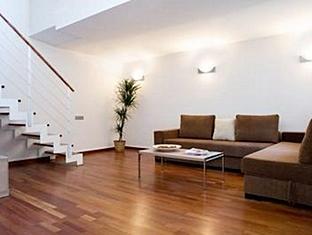 Lodging Ramblas Miro Apartment Barcelona - Hotel interieur