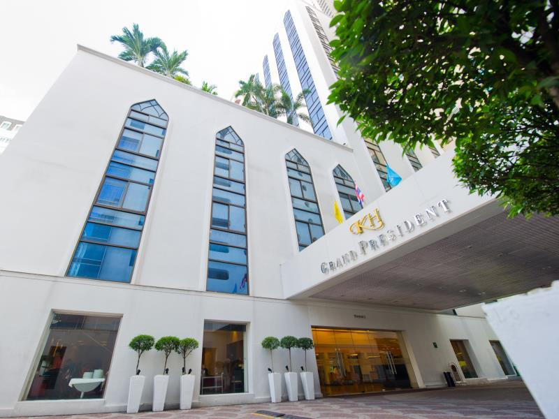 Grand President Hotel Bangkok - Hotels and Accommodation in Thailand, Asia