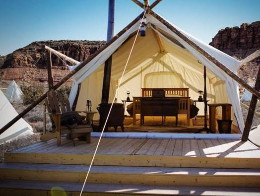 Moab Under Canvas Guest House