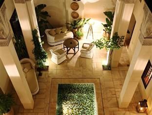 Dixneuf La Ksour Riad Marakeš - notranjost hotela