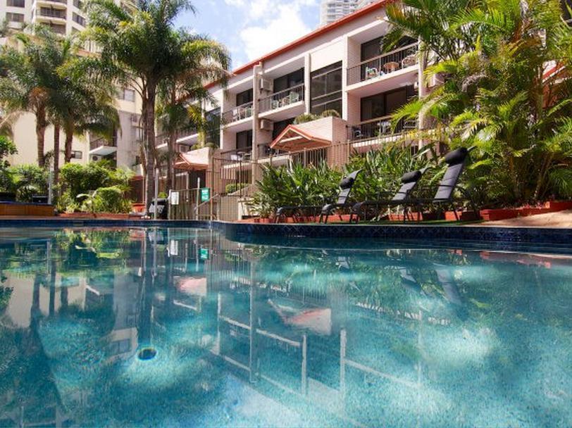 Trickett Gardens Holiday Inn - Hotell och Boende i Australien , Guldkusten