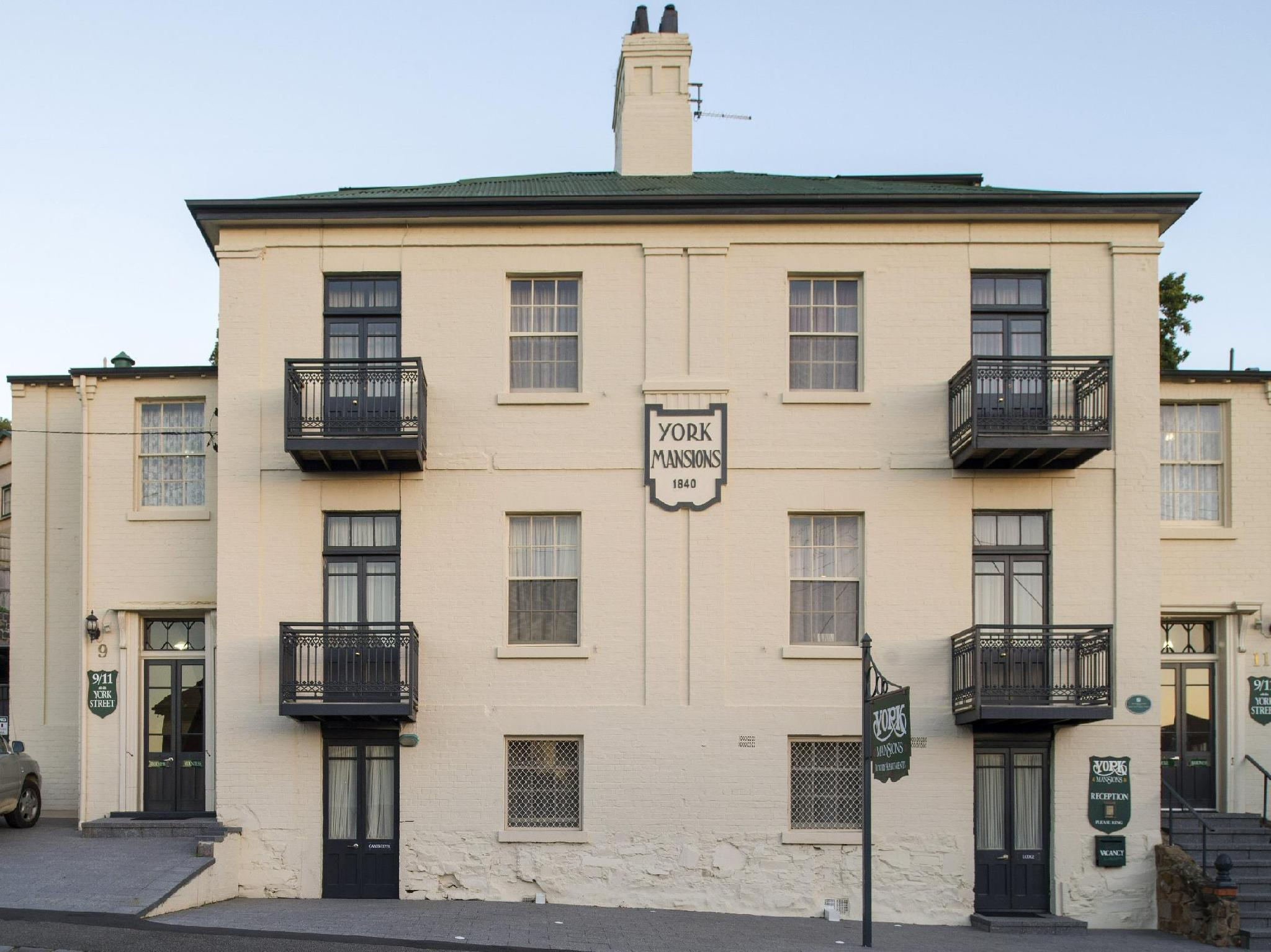 Apartments At York Mansions - Hotell och Boende i Australien , Launceston