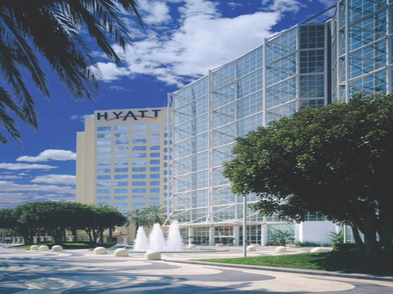 Hyatt Regency Orange County Hotel Garden Grove Ca United States