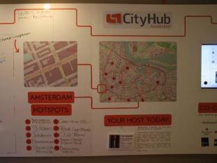 Cityhub Beta Hotel Ámsterdam - Interior del hotel