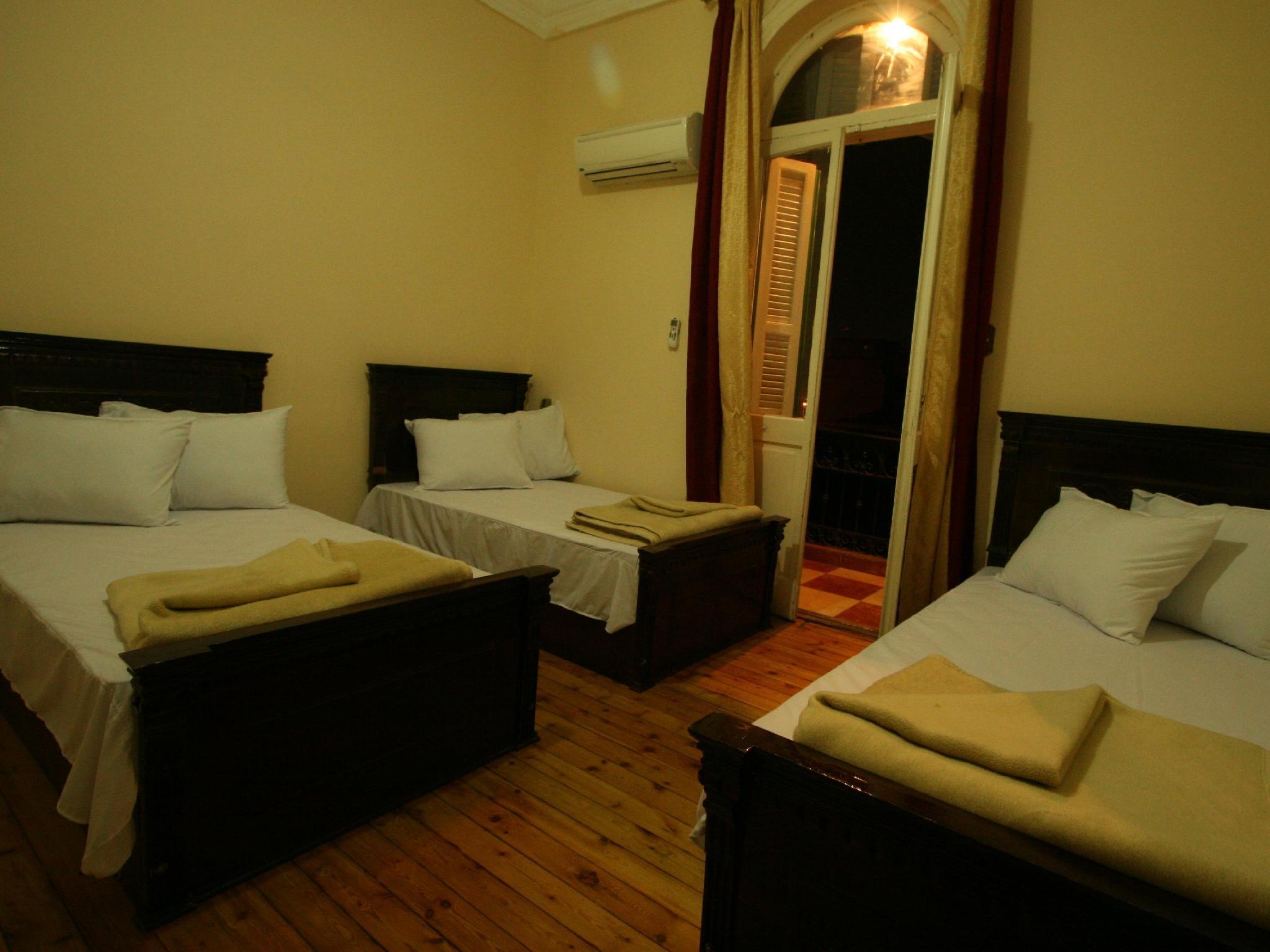 My Hotel Hostel Kairo - Hotellet indefra