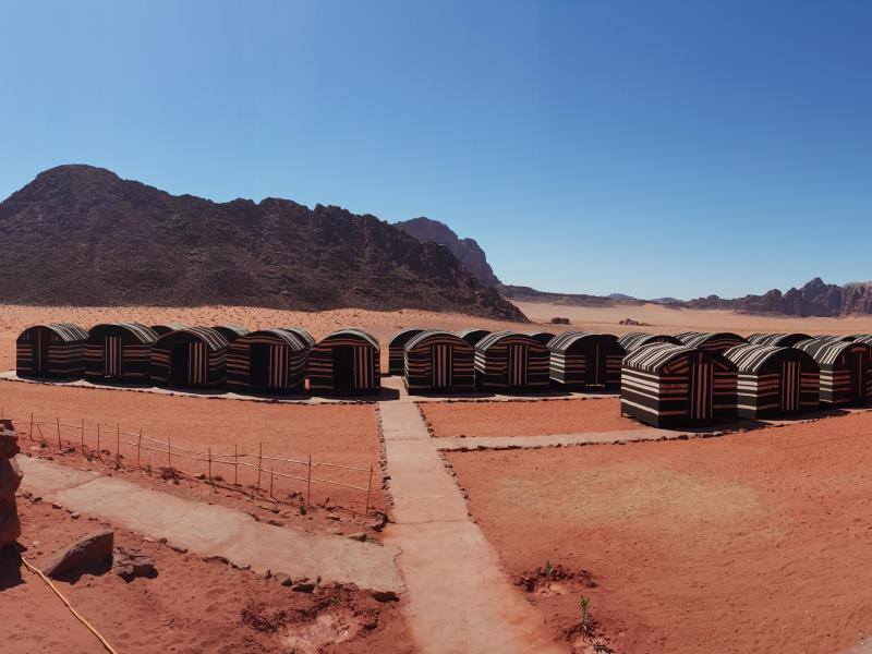Wadi Rum Caravan Camp - Hotels and Accommodation in Jordan, Middle East