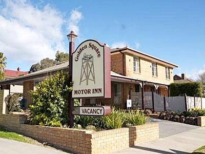 Bendigo Golden Square Motor Inn - Hotell och Boende i Australien , Bendigo