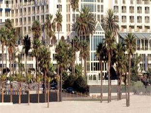 Loews Santa Monica Beach Hotel Los Angeles (CA) - Hotellet udefra