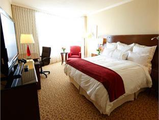 Marriott Pinnacle Hotel Vancouver (BC) - Gästrum