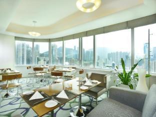 Metropark Hotel Causeway Bay Honkongas - Baras / poilsio zona