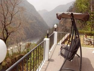 Explore Himalayas Resort Rishikesh - Balcony With Mountain View