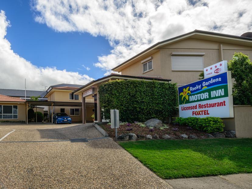 Rocky Gardens Motor Inn - Hotell och Boende i Australien , Rockhampton