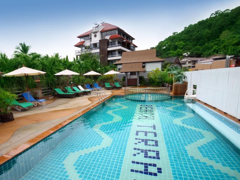 Beach Terrace Hotel - Hotels and Accommodation in Thailand, Asia
